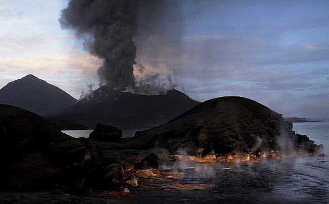 Действующие вулканы